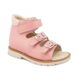 сандалии розовые