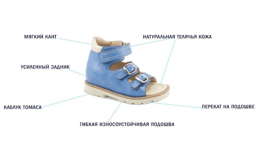 свойства ортопедической обуви