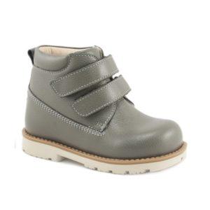детские орто ботинки мега ортопедик серые
