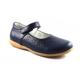 синие туфли для девочки
