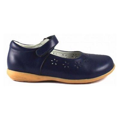 туфли ортопедические Sursil Ortho синие для девочки