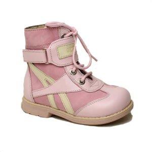 ботинки розовые детские