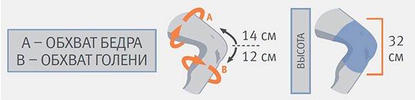 Коленный ортез (наколенник) Orliman 9104