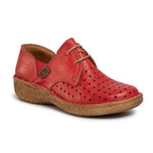 красные туфли comfortabel