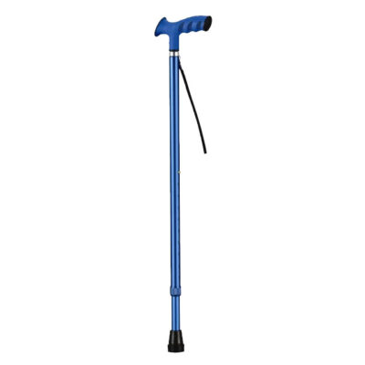 трость для пожилых синяя